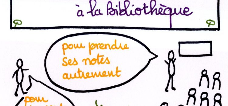 Atelier sketchnote à la Bibliothèque