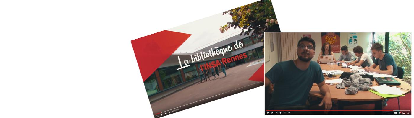 Découvrez la vidéo de présentation de la Biblinsa sur Youtube !