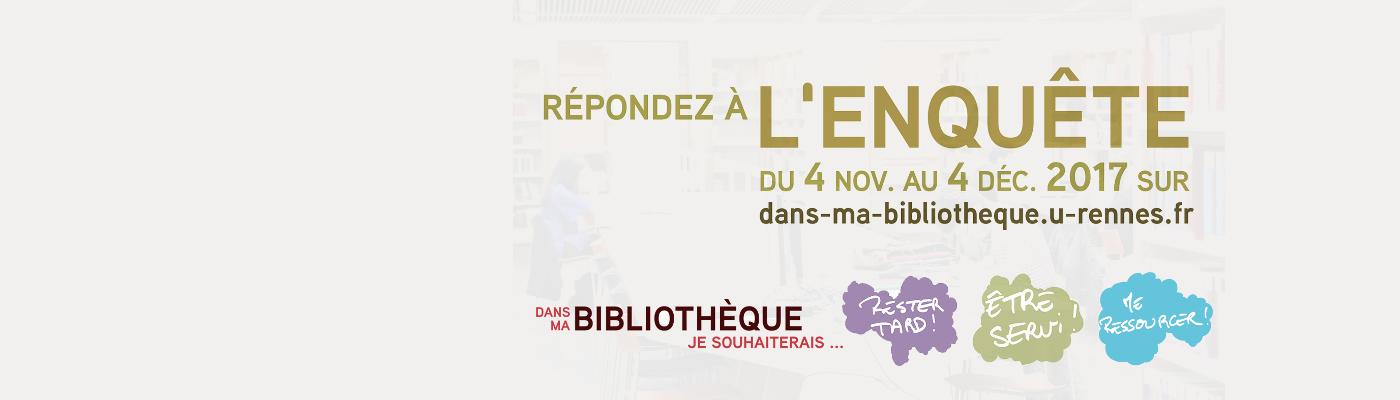 Libqual - Bibliothèque de l'INSA Rennes