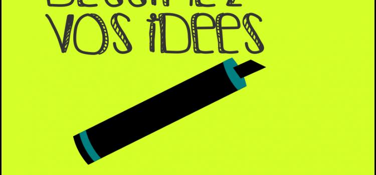 2 ateliers pour dessiner vos idées