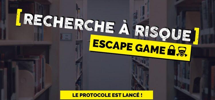 Escape Game «Recherche à risque»