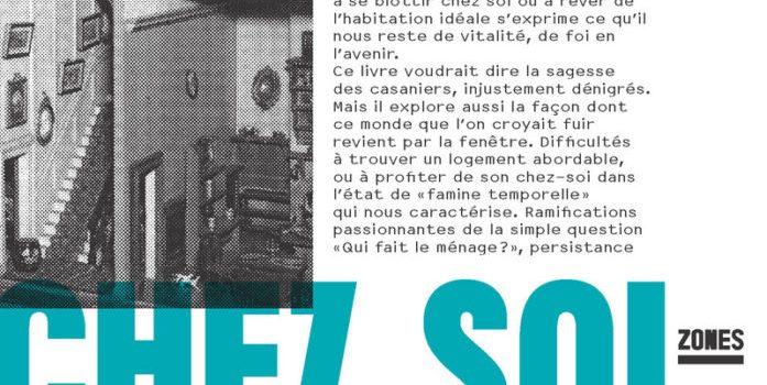«Chez soi», de Mona Chollet
