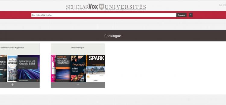 ScholarVox désormais disponible !