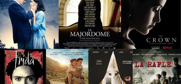 Sélection de films sur des événements et/ou  sur des personnages historiques